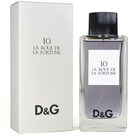 D&G Anthology La Roue de la Fortune 10 by Dolce & Gabbana - Luxury Perfumes Inc. -