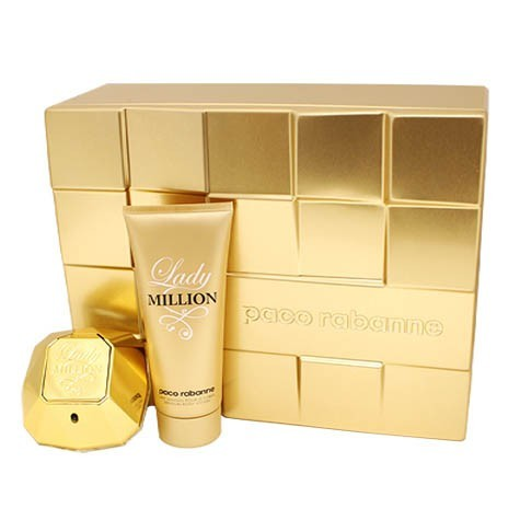 Lady Million Gift Set by Paco Rabanne - Luxury Perfumes Inc. -