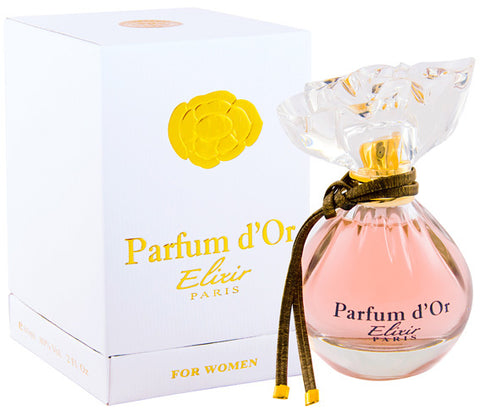 Parfum d'Or Elixir by Kristel Saint Martin - Luxury Perfumes Inc. -