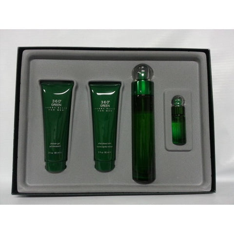 360 Green Gift Set by Perry Ellis - Luxury Perfumes Inc. -