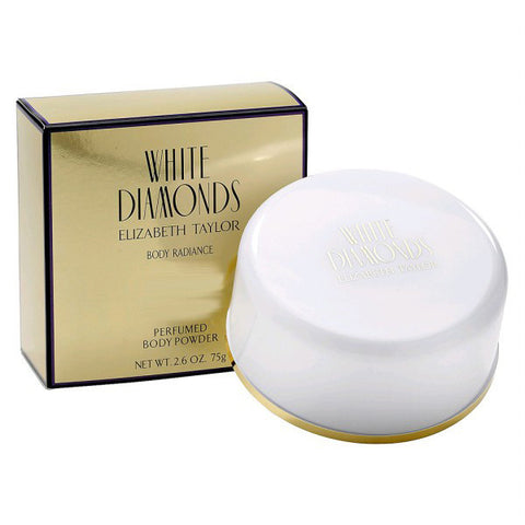 White Diamonds Body Powder by Elizabeth Taylor - Luxury Perfumes Inc. -