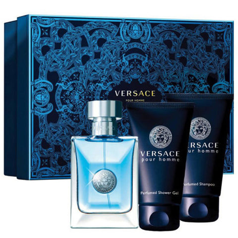 Versace Pour Homme Gift Set by Versace - Luxury Perfumes Inc. -