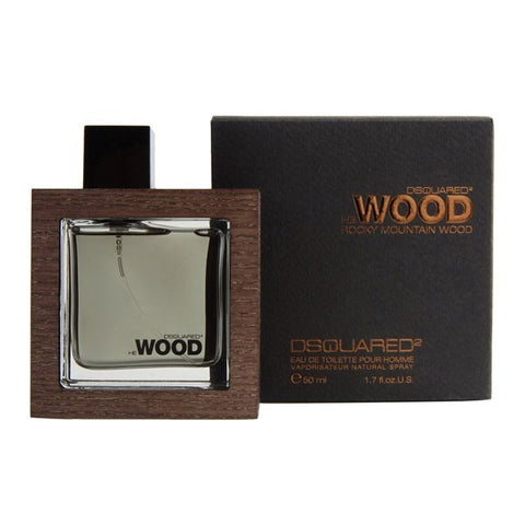 He Wood Rocky Mountain Wood by D Squared2 - Luxury Perfumes Inc. -
