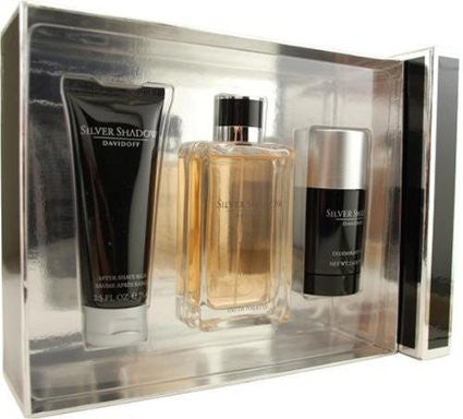 Silver Shadow Gift Set by Davidoff - Luxury Perfumes Inc. -