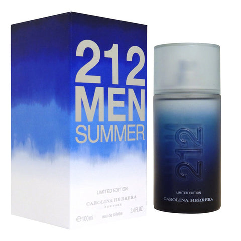 212 Men Summer  by Carolina Herrera - Luxury Perfumes Inc. -