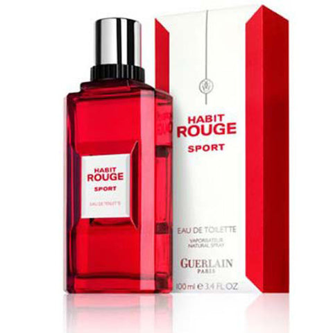 Habit Rouge Sport by Guerlain - Luxury Perfumes Inc. -