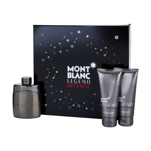 Legend Intense Gift Set by Mont Blanc - Luxury Perfumes Inc. -