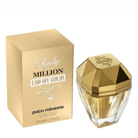 Lady Million Eau My Gold by Paco Rabanne - Luxury Perfumes Inc. -