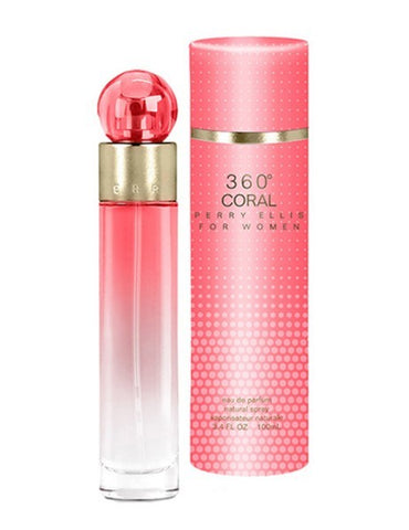 360 Coral by Perry Ellis - Luxury Perfumes Inc. -