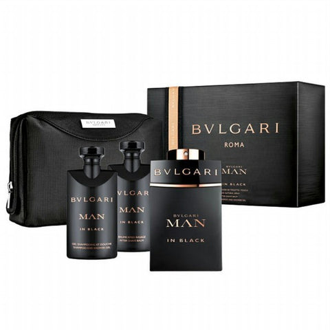 Man in Black Gift Set by Bvlgari - Luxury Perfumes Inc. -
