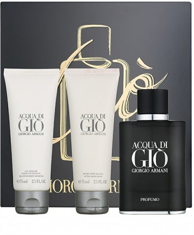 Acqua di Gio Profumo Gift Set by Giorgio Armani - Luxury Perfumes Inc. -