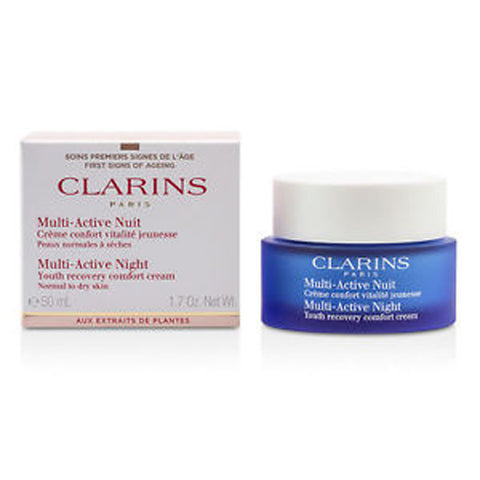 Clarins Multi-Active Night Youth Recovery Cream (Normal to Dry Skin) by Clarins - Luxury Perfumes Inc. -