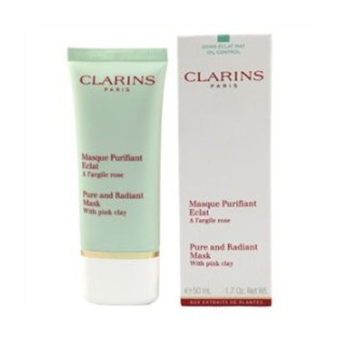 Clarins Pure & Radiant Mask with Pink Clay by Clarins