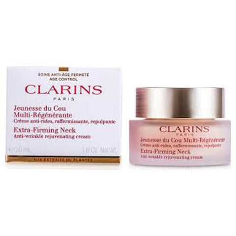 Clarins Extra Firming Neck Anti-Wrinkle Rejuvenating Cream by Clarins - Luxury Perfumes Inc. -
