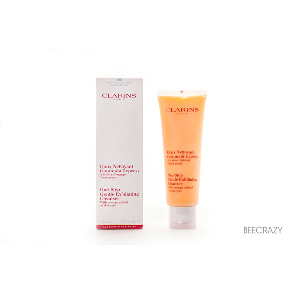 Clarins One Step Gentle Exfoliating Cleanser (All Skin Types) by Clarins - Luxury Perfumes Inc. -