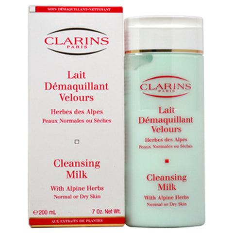 Clarins Cleansing Milk with Alpine Herbs by Clarins - Luxury Perfumes Inc. -