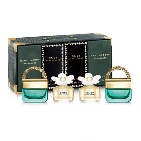 Decadence & Daisy 4 Piece Collection by Marc Jacobs - Luxury Perfumes Inc. -