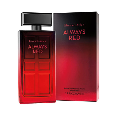 Always Red by Elizabeth Arden - Luxury Perfumes Inc. -