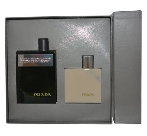 Amber Pour Homme Intense Gift Set by Prada - Luxury Perfumes Inc. -