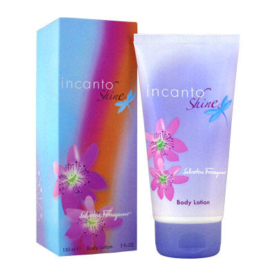 Incanto Shine Body Lotion by Salvatore Ferragamo - Luxury Perfumes Inc. -