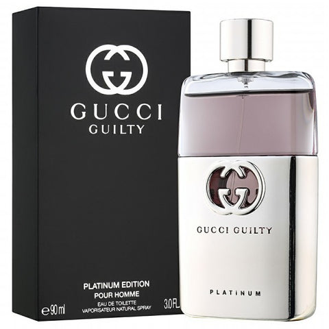 Gucci Guilty Pour Homme Platinum by Gucci - Luxury Perfumes Inc. -