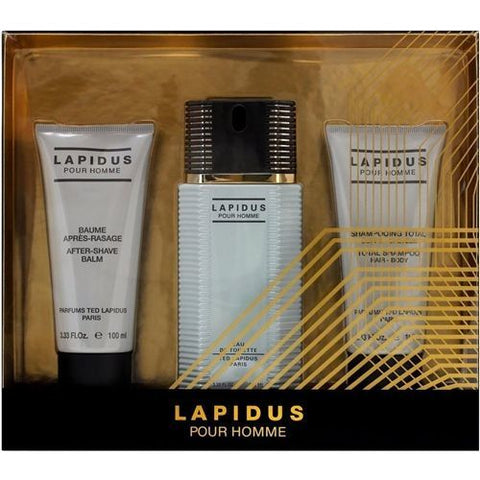 Lapidus Gift Set by Ted Lapidus - Luxury Perfumes Inc. -