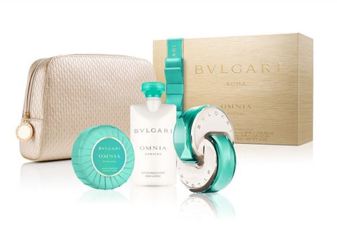 Bvlgari Omnia Paraiba Gift Set by Bvlgari - Luxury Perfumes Inc. -