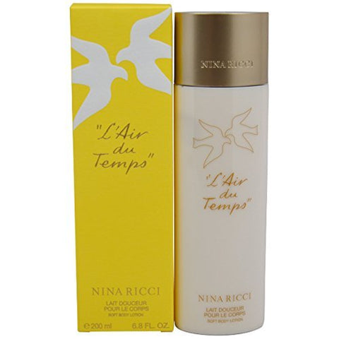 L'Air du Temps Body Lotion by Nina Ricci - Luxury Perfumes Inc. -