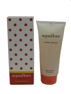 AquaFlore Shower Gel by Carolina Herrera - Luxury Perfumes Inc. -