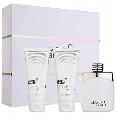 Legend Spirit Gift Set by Mont Blanc - Luxury Perfumes Inc. -