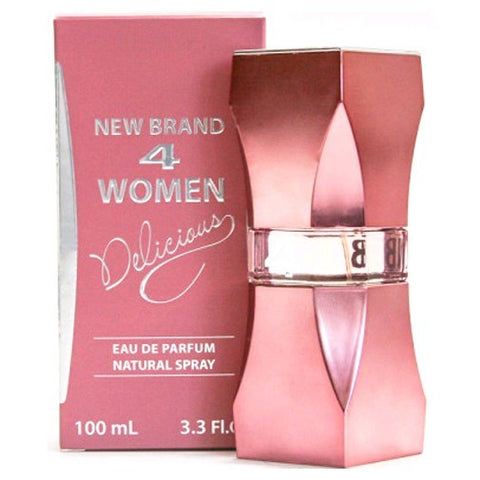 4 Women Delicious by New Brand - Luxury Perfumes Inc. -