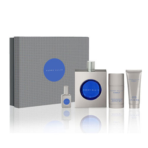 Cobalt Gift Set by Perry Ellis - Luxury Perfumes Inc. -