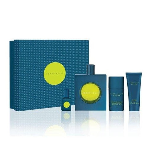 Citron Gift Set by Perry Ellis - Luxury Perfumes Inc. -