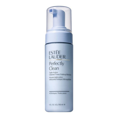 Estee Lauder Perfectly Clean Triple-Action Cleanser/Toner/Makeup Remover by Estee Lauder - Luxury Perfumes Inc. -