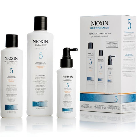 Nioxin System 5 Scalp and Hair Care Kit by Nioxin - Luxury Perfumes Inc. -
