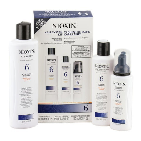 Nioxin System 6 Scalp and Hair Care Kit by Nioxin