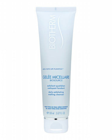 Biosource Daily Exfoliating Cleansing Melting Gel by Biotherm - Luxury Perfumes Inc. -