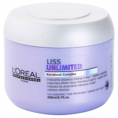 L'oreal Liss Unlimited Keratinoil Complex Mask by L'oreal - Luxury Perfumes Inc. -