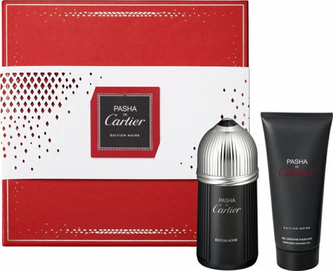 Pasha De Cartier Edition Noire Gift Set by Cartier