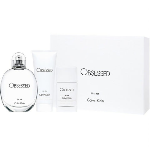 Obsessed for Men Gift Set by Calvin Klein - Luxury Perfumes Inc. -