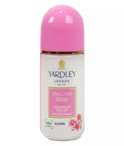 Yardley English Rose Deodorant by Yardley - Luxury Perfumes Inc. -