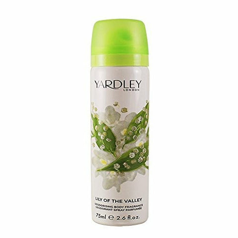 Yardley Lily of the Valley Deodorant by Yardley