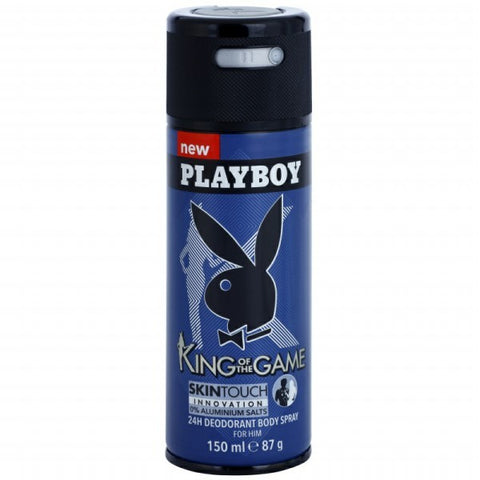 King of the Game Deodorant by Playboy - Luxury Perfumes Inc. -