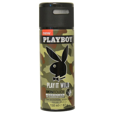 Play it Wild Deodorant by Playboy - Luxury Perfumes Inc. -