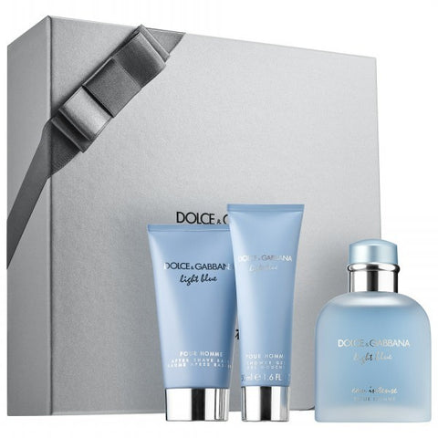 Light Blue Eau Intense Gift Set by Dolce & Gabbana