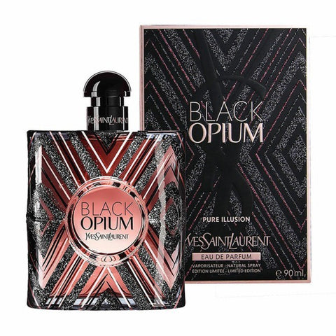 Black Opium Pure Illusion by Yves Saint Laurent - Luxury Perfumes Inc. -
