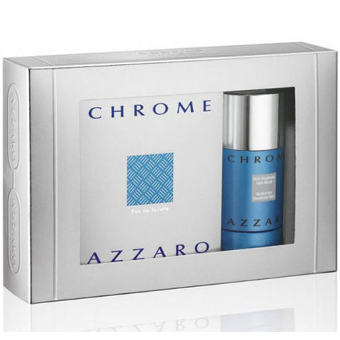 Chrome Gift Set by Azzaro - Luxury Perfumes Inc. -
