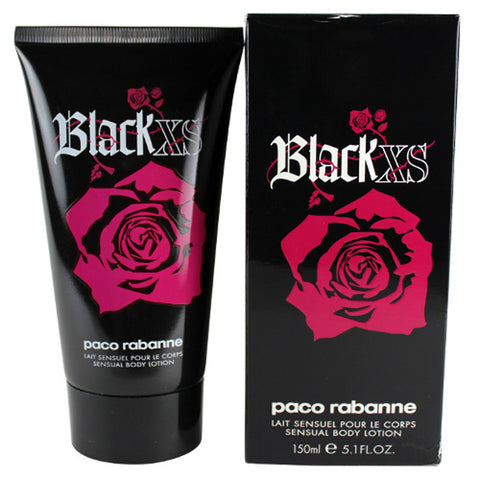Black XS Body Lotion by Paco Rabanne - Luxury Perfumes Inc. -