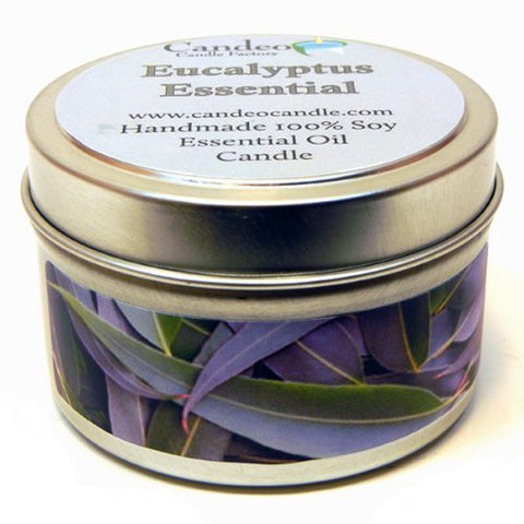 Eucalyptus Scented Candle by A Candle Co. - Luxury Perfumes Inc. -