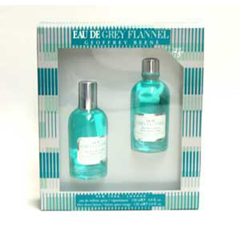 Eau de Grey Flannel Gift Set by Geoffrey Beene - Luxury Perfumes Inc. -